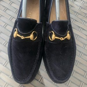 00be4f81093244 Men Navy Gucci Loafers on Poshmark